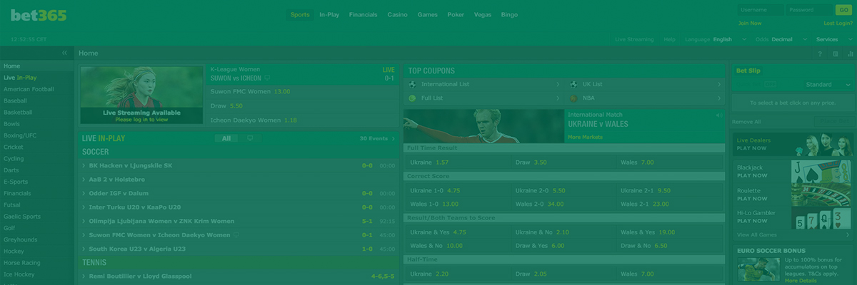 Bet on esports with Bet365 - 50€/$/£ Welcome Bonus!