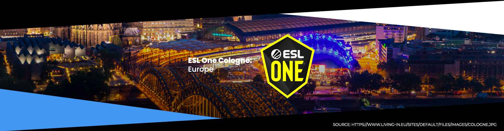 Tournament page for ESL One Cologne Online: Europe.