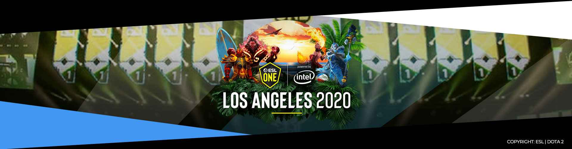 ESL One Los Angeles Event Page